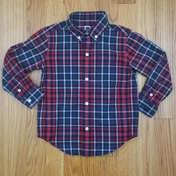 7da29325 Janie and Jack Other - Janie and Jack Toddler Boys Red Plaid Shirt 2T